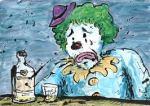 clown drunk