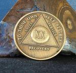 20 year coin