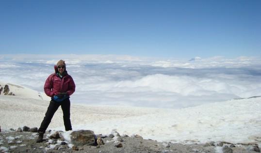 Me at 12,200 feet